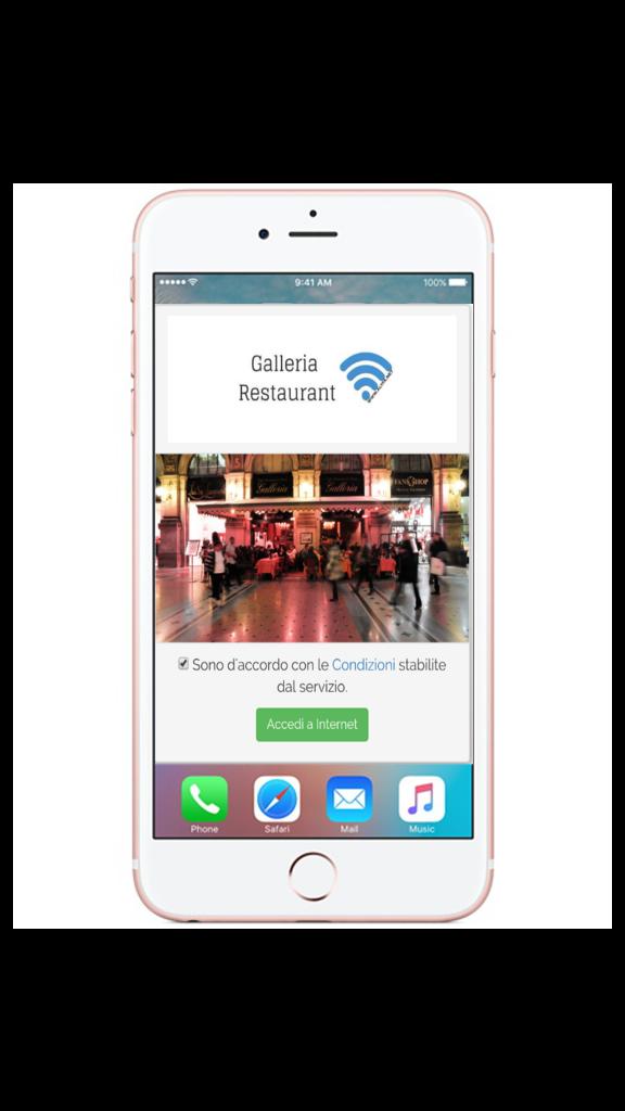 Servizio WiFi Galleria