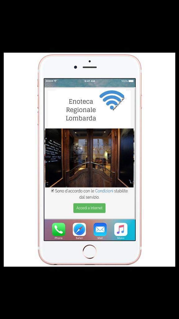 WiFi Enoteca Regionale Lombarda