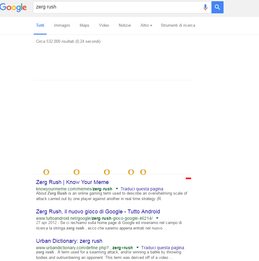 "Google ""zerg rush"" - Promos Web 22"